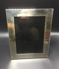 "Tiffany & Co. Vintage Sterling Silver Picture Frame 7""x9"""