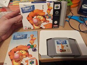 Tiggers Honey Hunt Tiger's Nintendo 64 Genuine n64