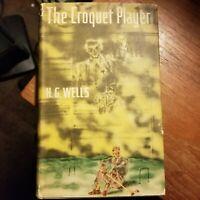 The Croquet Player H.G. Wells - 1937 First Edition U.S.