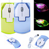 1600 DPI Optical USB LED Wired Game Mouse Mice For PC Laptop Computer