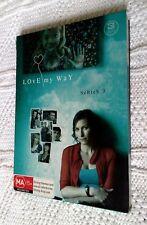 Love My Way : Series 3 (DVD,  3-Disc Box Set) R-4, LIKE NEW, FREE POST AUS-WIDE