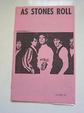 ROLLING STONES As Stones Roll  fanzine fan club 60