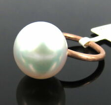 Estate 15mm South Seas Cultured Pearl & 14K Rose Gold Ring Size 4.5