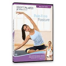 STOTT PILATES: PAIN FREE POSTURE (DVD) R-ALL, LIKE NEW, FREE POST IN AUSTRALIA