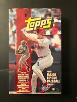1998 TOPPS BASEBALL FACTORY SEALED SERIES 1 HOBBY BOX CLEMENTERARE
