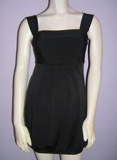 NWT Maternal America Black Maternity Bubble Dress - Size S (2-4)