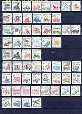 US, #1897//2468 Transportation series full set of 60 stamps, MNH
