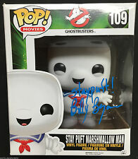 """BILLY BRYAN SIGNED 6"""" STAY PUFT MARSHMELLOW MAN GHOSTBUSTERS FUNKO POP PROOF J4"""