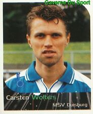 210 CARSTEN WOLTERS GERMANY MSV DUISBURG STICKER FUSSBALL 2000 PANINI