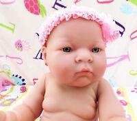 "BABY DOLL GIRL PREEMIE NEWBORN 14"" INCHES REBORN VINYL ALIVE (LAST EDITION DOLL)"