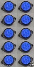 10x 7 LEDs 12V Side Marker BLUE Lights Car SUV Camper 4x4 Pickup Caravan Van