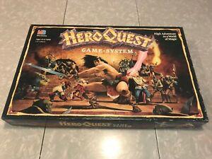 Hero Quest Board Game - COMPLETE - Milton Bradley 1990_ MPN 4101