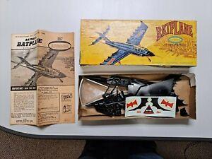 1966 Aurora Batman Robin Batplane Model Kit 487-98