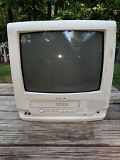 """Panasonic Omnivision Tv Vcr Combo unit 13"""" screen tested works great"""