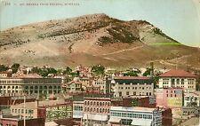 c1910 Mt Helena from Helena, Montana Postcard