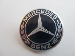Mercedes Benz Pin / Anstecker / Anstecknadel, Made in West-Germany, Durchm, 2 cm