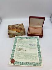 Genuine ROLEX ladies datejus warranty 69173  box  vintage 14.00.01 0705001A192