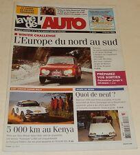 LA VIE DE L'AUTO N°1113 - Février 2004 : EAST Africain Safari Rally