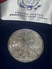 2013 1 oz Silver American Eagle in a US MINT Presentation us coin