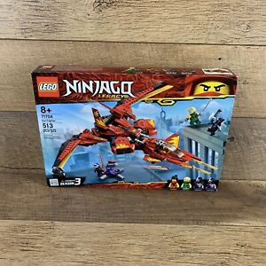LEGO NINJAGO Legacy Kai Fighter 71704 Ninja Building Toy for Ages 8+ (513 Pieces