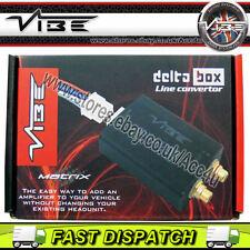 Vibe Matrix Delta Box Auto Altoparlante Filo a Basso Livello RCA Linea Uscita Convertitore Da