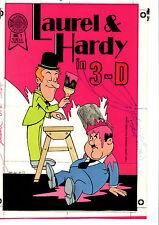 BLACKTHORNE COMICS ORIGINAL LAUREL AND HARDY COMIC PUBLISHER PROOF 1987