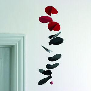 Flensted Turning Leaves Modern Hanging Mobile Decor Kinetic Sculpture Art Danish