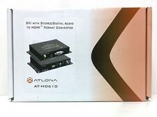 Atlona AT-HD610 DVI with Analog/Digital Audio to HDMI Converter and Embedder