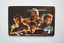 Fantastic Four Movie Gallery Rental Card - Rare Vintage (only one on eBay)