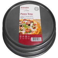 Set di 4 Prochef Everyday ROUND PIZZA più vivace forno antiaderenti per Torte Vassoi Piatti