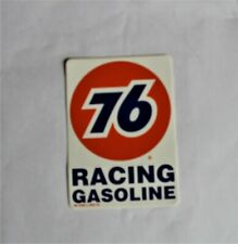 1996 UNION 76 VINTAGE RACING GAS STICKER DECAL NASCAR NHRA NOS FREE SHIPPING!