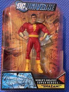 DC Universe Shazam Captain Marvel Action Figure DC Universe 2006 Mattel Toy