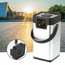 3.7V Portable Solar Power Generator Energy Storage Mobile Power Supply 100-120V