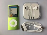 Apple iPod nano 4th Generation Green (8GB) new