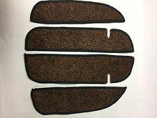 VW T5 Transporter California Hi Line Carpet Mats Door Cab Rubber Backed Cards