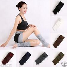 Fashion Woman Thigh Corchet Knitted Stocking Leg Warmers Yoga Socks Boot Cover