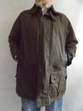 """Vintage Barbour Chaqueta Verde Beaufort 3 Crest Cera de algodón Abrigo Pecho 46"""""""