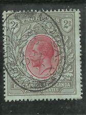 Britisch-Ostafrika u. Uganda - FM, 2 R, gestempelt