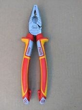 NWS 205MM 1000V VDE COMBINATION PLIERS NEW