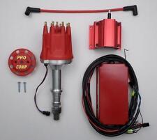 PONTIAC 326-350-389-400-455 PRO-BILLET RACE Distributor, 6 AL BOX and 50k Coil