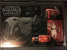 Star Wars Black Series 6 inch Rey's Speeder (Jakku) + Rey Scavenger IN STOCK