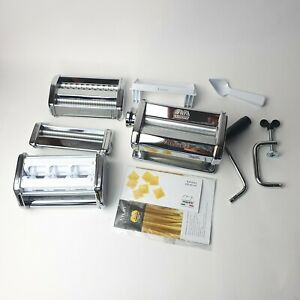 Marcato Atlas Model 150 Pasta Set Machine Chrome