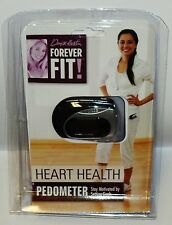 Denise Austin Forever Fit Heart Health Pedometer All Fitness & Skill Levels NIP
