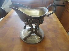 Vintage Antique Gravy Bowl w/ Stand Holder GREAT FOR THANKSGIVING, COMING UP!!