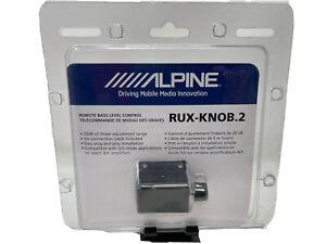 Alpine RUX-KNOB.2 Remote Bass Knob Level Control for Alpine Amplifiers New