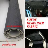 Headliner Doctor DIY repair fabric compatible with Chevrolet Silverado-NAVY BLUE-72x60