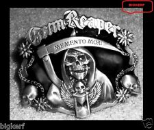 SONS OF ANARCHY   MEMENTO MORI  BELT BUCKLE  GRIM REAPER   SAMCRO BIKER ROADGEAR