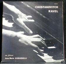 Chostakovitch 2e sonate  - Ravel  Gaspard de la nuit - Anne-Marie Ghirardelli