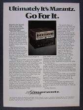 1978 Marantz 1180DC 1180 DC Amplifier Amp photo vintage print Ad