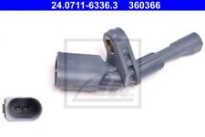 Sensor, Raddrehzahl für Bremsanlage Hinterachse ATE 24.0711-6336.3